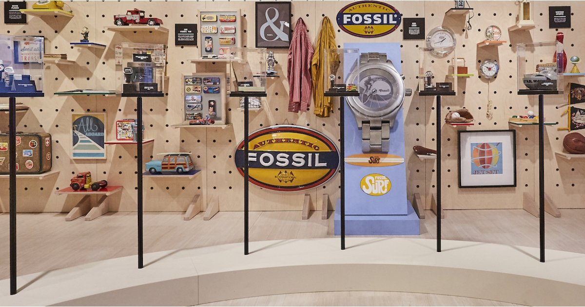 Fossil's Archival Series pays homage to its past with a modern twist