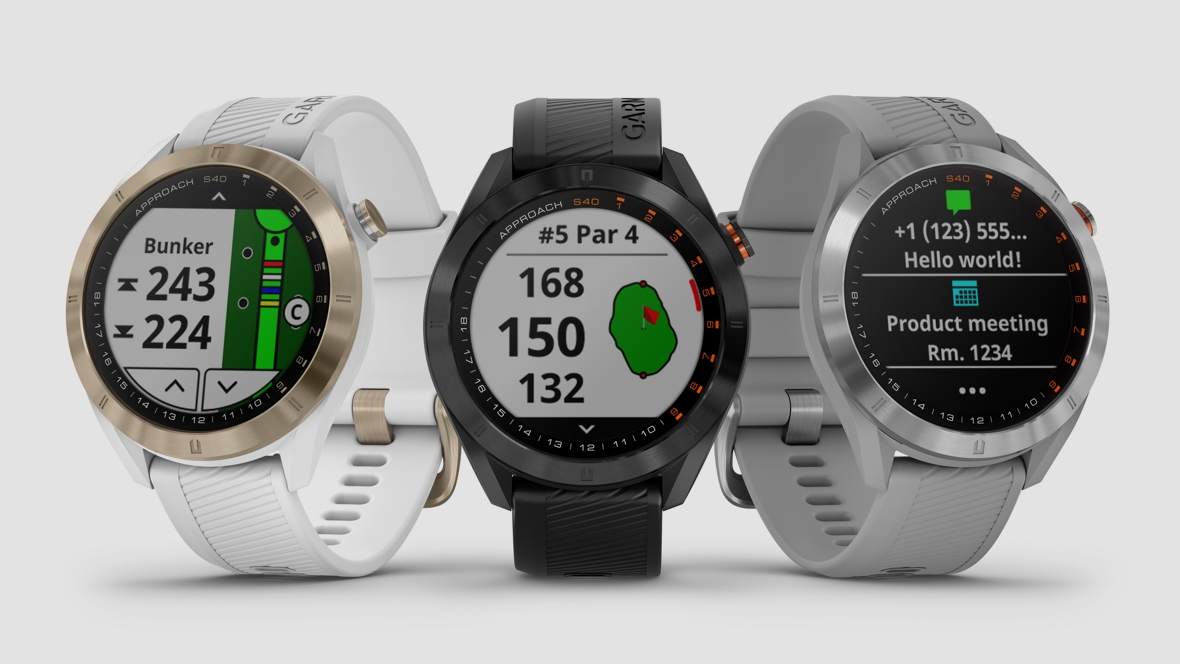 Garmin unveils Approach S40 golf watch