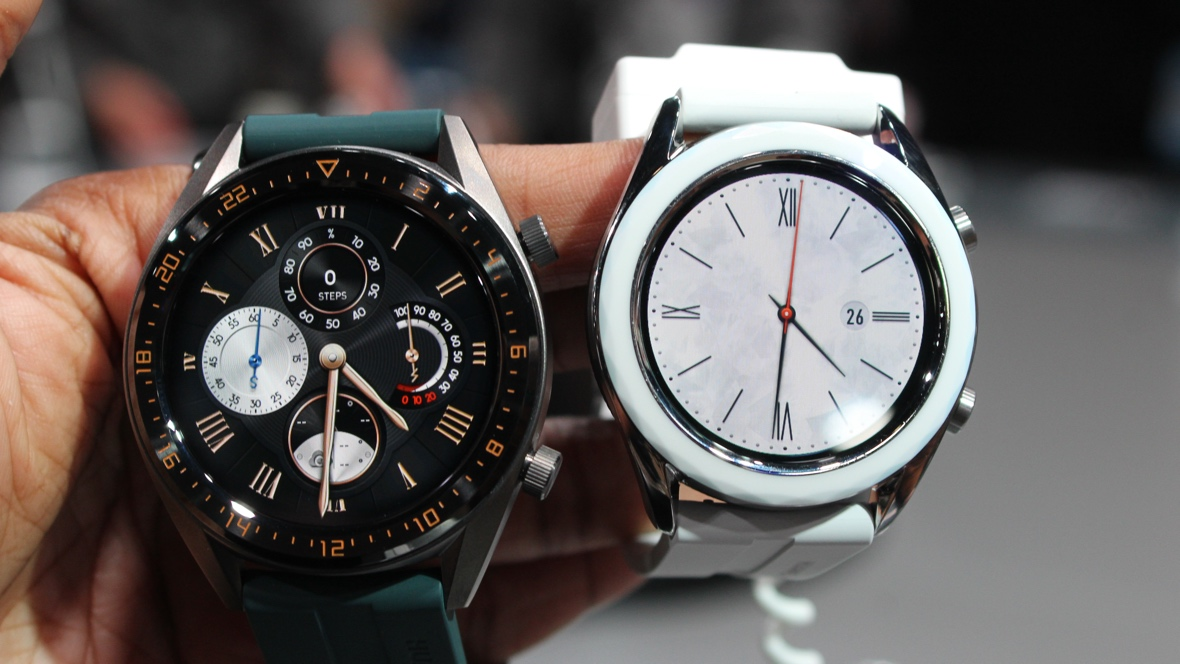 Huawei Watch GT Active and Elegant Editions