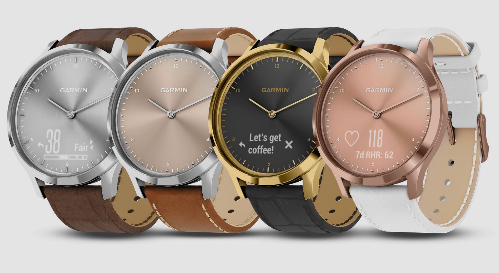 ​New Garmin Vivomove HR colour ways launch