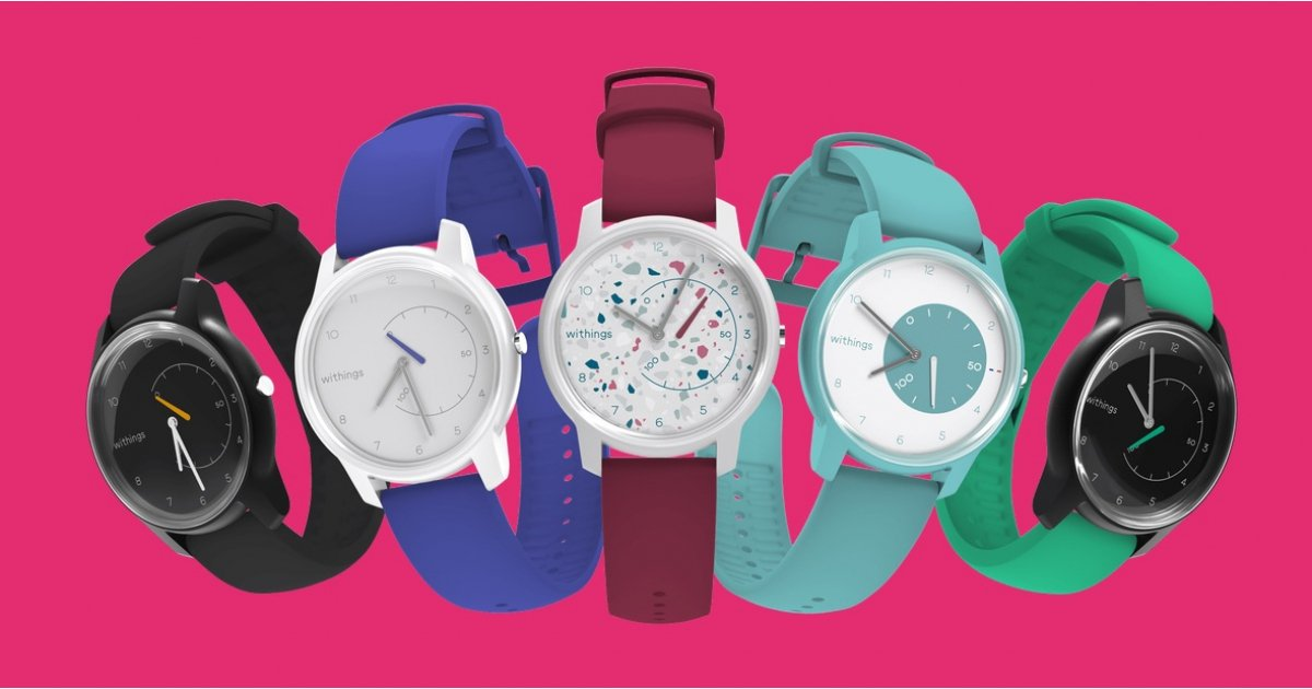 You can now customize your very own Withings Move