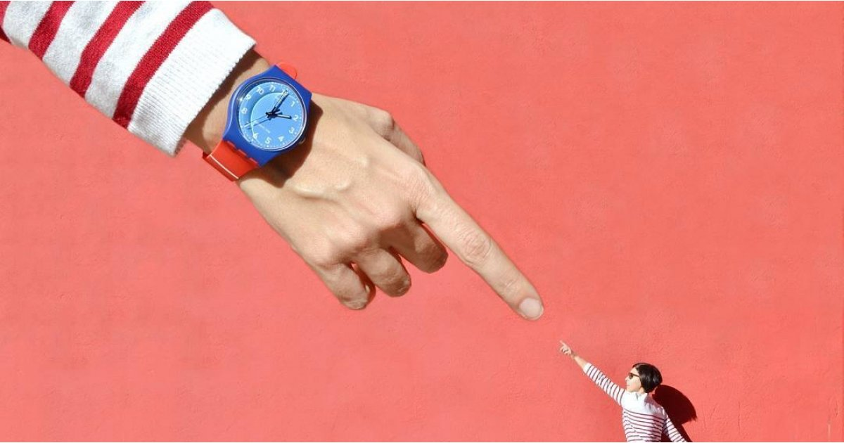 Apple says Swatch's 'Tick Different' slogan is a copy - court thinks different