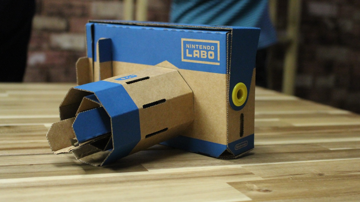 First look: Playtime with Nintendo Labo VR