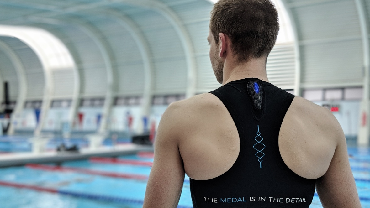 Incus Nova is a wearable for triathletes