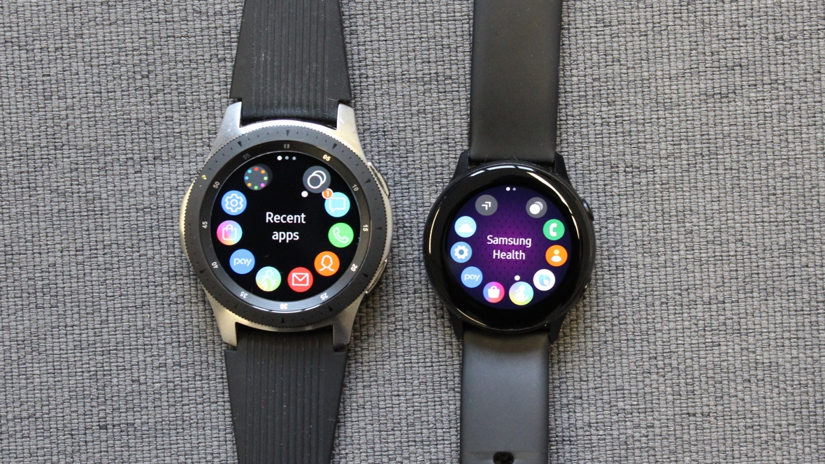 Samsung Galaxy Watch v Watch Active