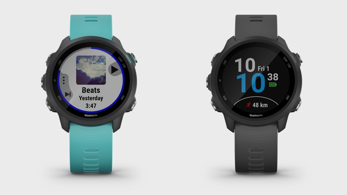 31c6650e8 Garmin's Forerunner 245 Music lets you track runs and stream tunes