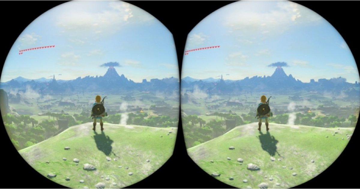 Field of view: VR support for Super Mario and Zelda officially hits Nintendo Switch