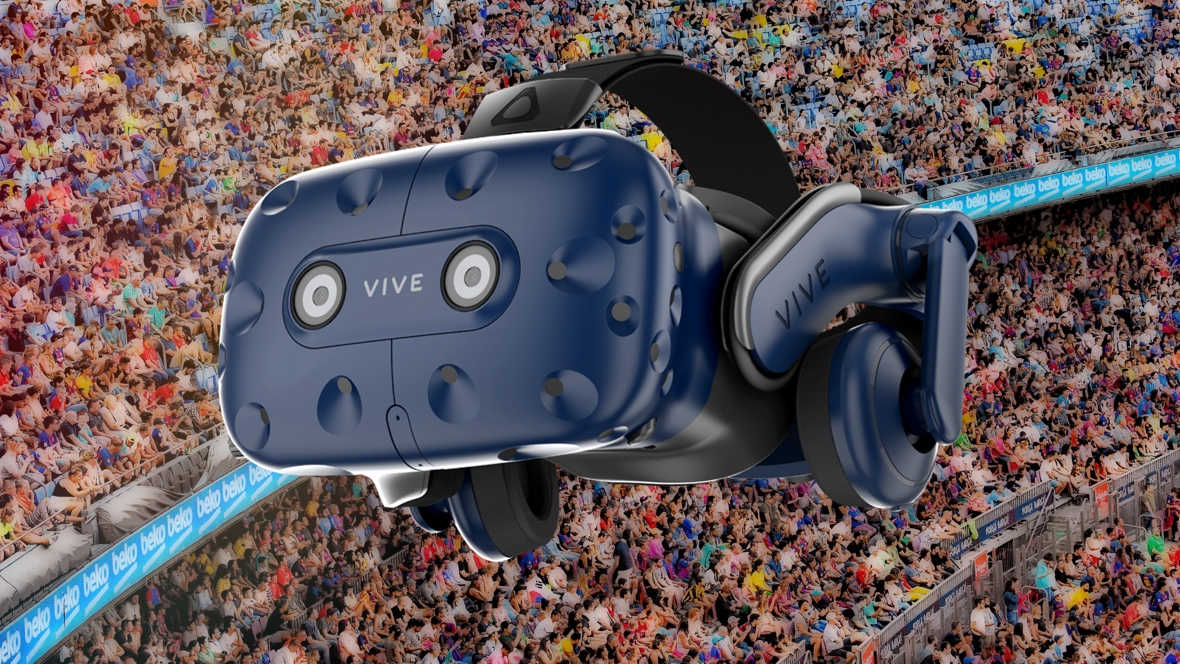 Preparing for pressure with HTC Vive Pro
