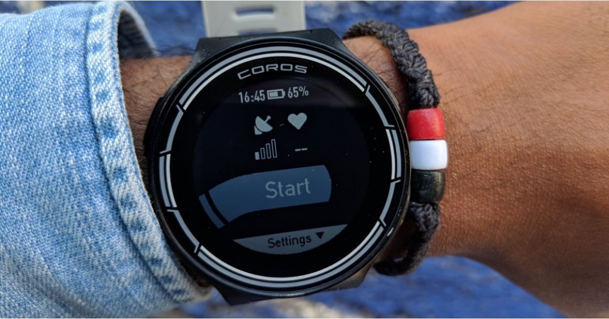 The Coros Pace GPS sports watch is the cheapest it's ever been