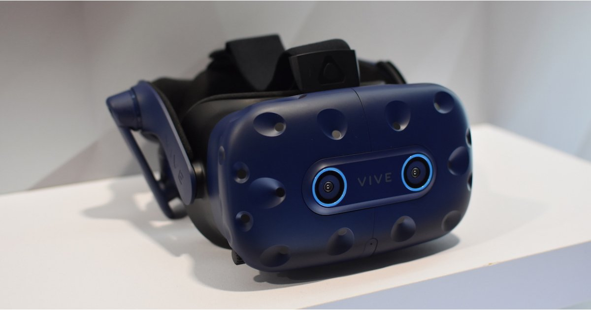 Field of view: Vive Pro Eye brings eye-tracking VR to Europe first