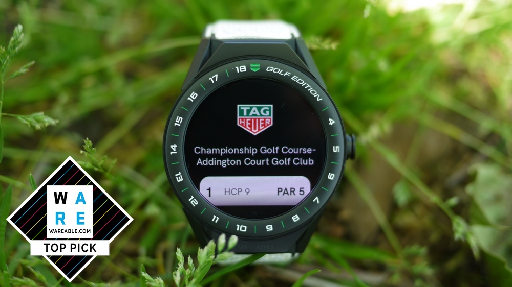 ​Tag Heuer Connected 45 Golf Edition