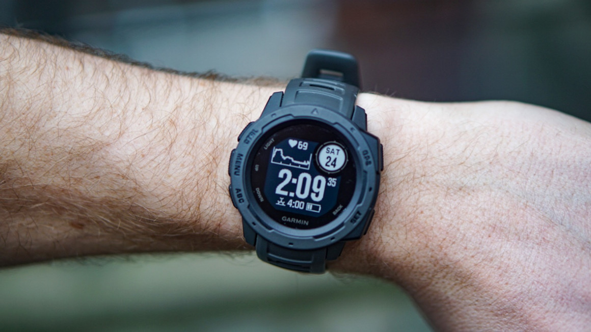 Garmin Sports Watch >> Deal: The Garmin Instinct has just dropped to its lowest ...