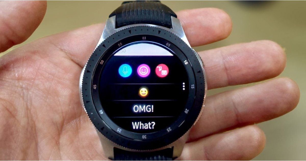 Samsung Galaxy Watch and WhatsApp: How to send and reply to