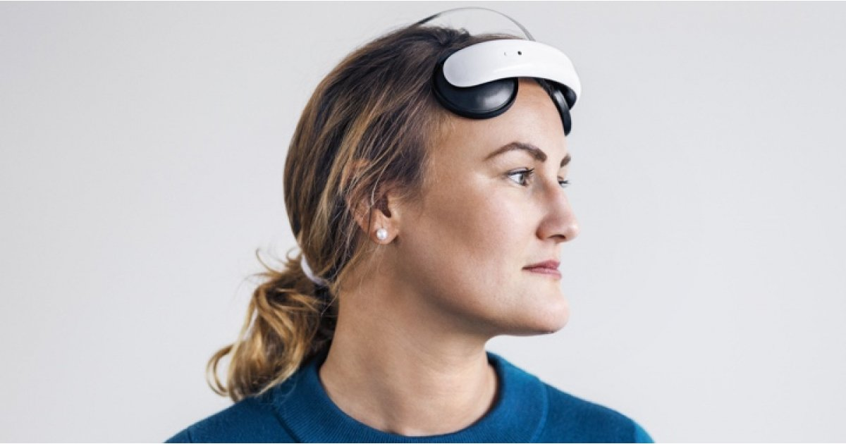 Flow headset is now approved to use neuroscience to treat depression