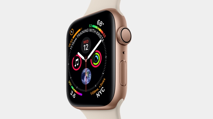 Apple Watch camera band detailed