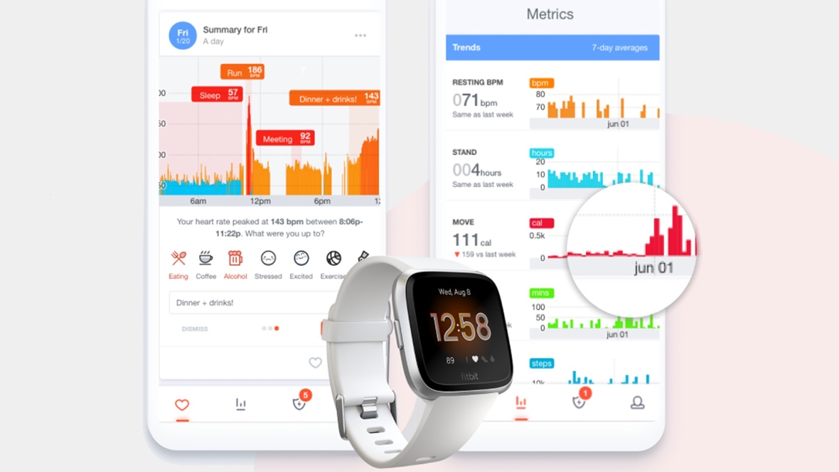 Cardiogram comes to Fitbit