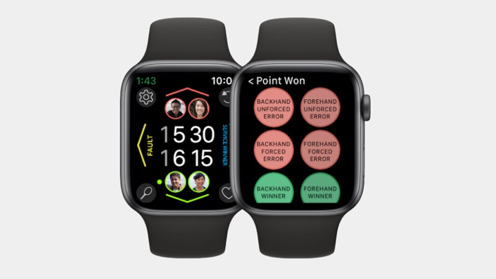 Apple Watch tennis app tackles mental health