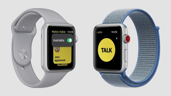 Apple Watch Walkie Talkie app disabled