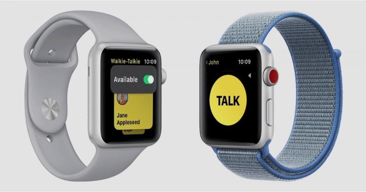 Apple Watch Walkie Talkie app can let you eavesdrop on other iPhone users