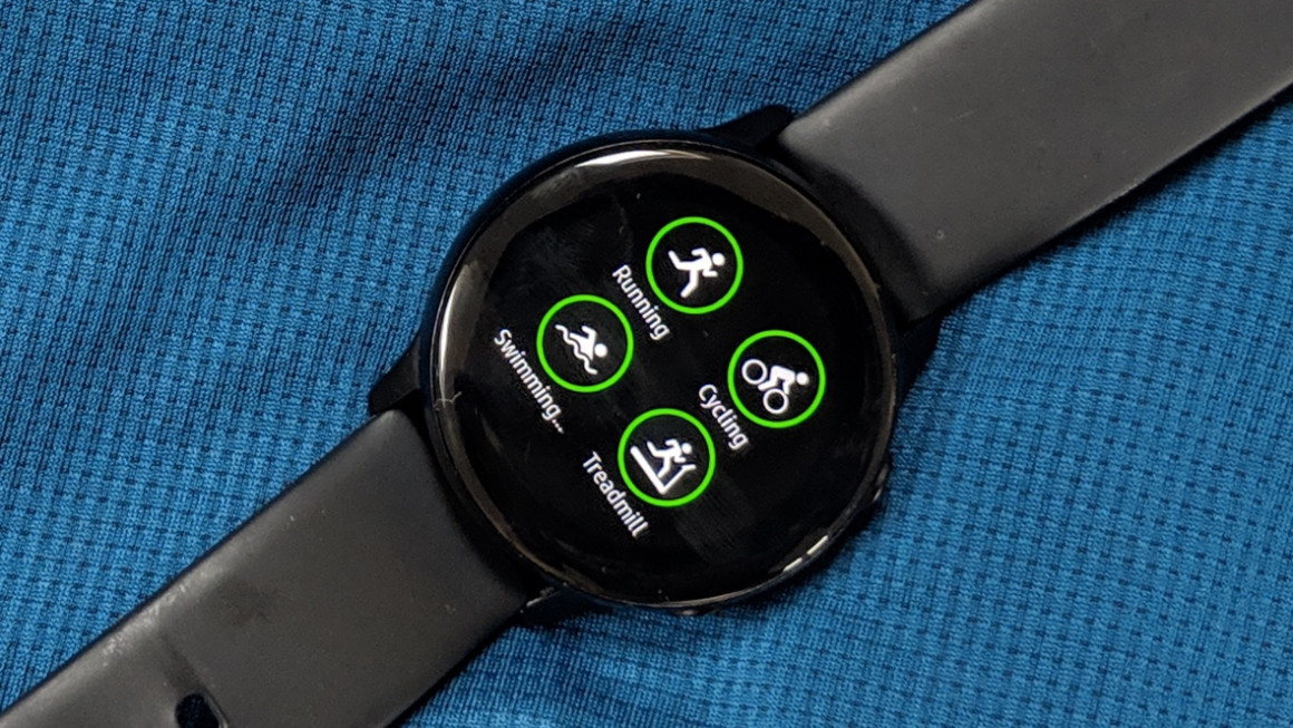Samsung Galaxy Watch Active is £55 off