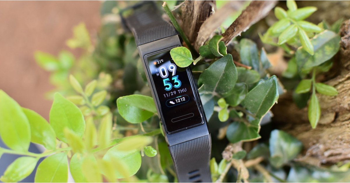 Pick up the Huawei Band 3 Pro fitness tracker for just £50
