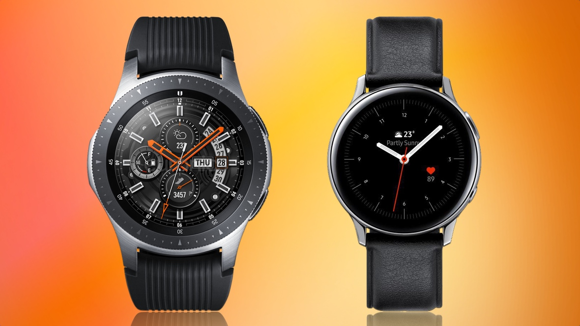 Samsung Galaxy Watch v Watch Active 2