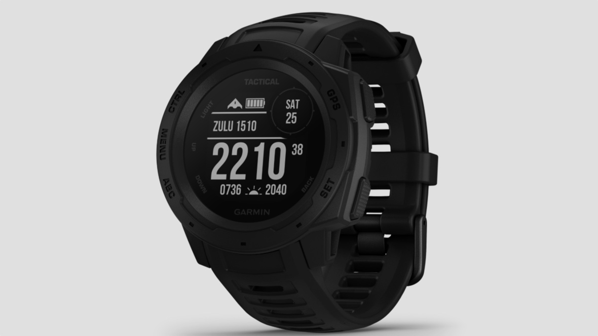 Garmin Instinct Tactical Edition unveiled