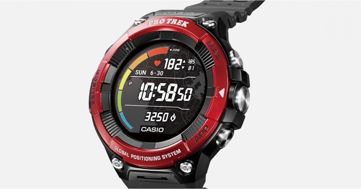 Casio's new Pro Trek Smart smartwatch finally lets you track your heart