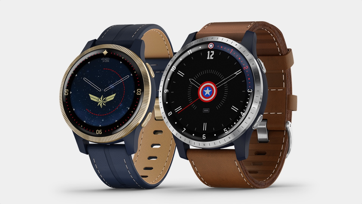 Garmin unveils Marvel-themed smartwatch duo