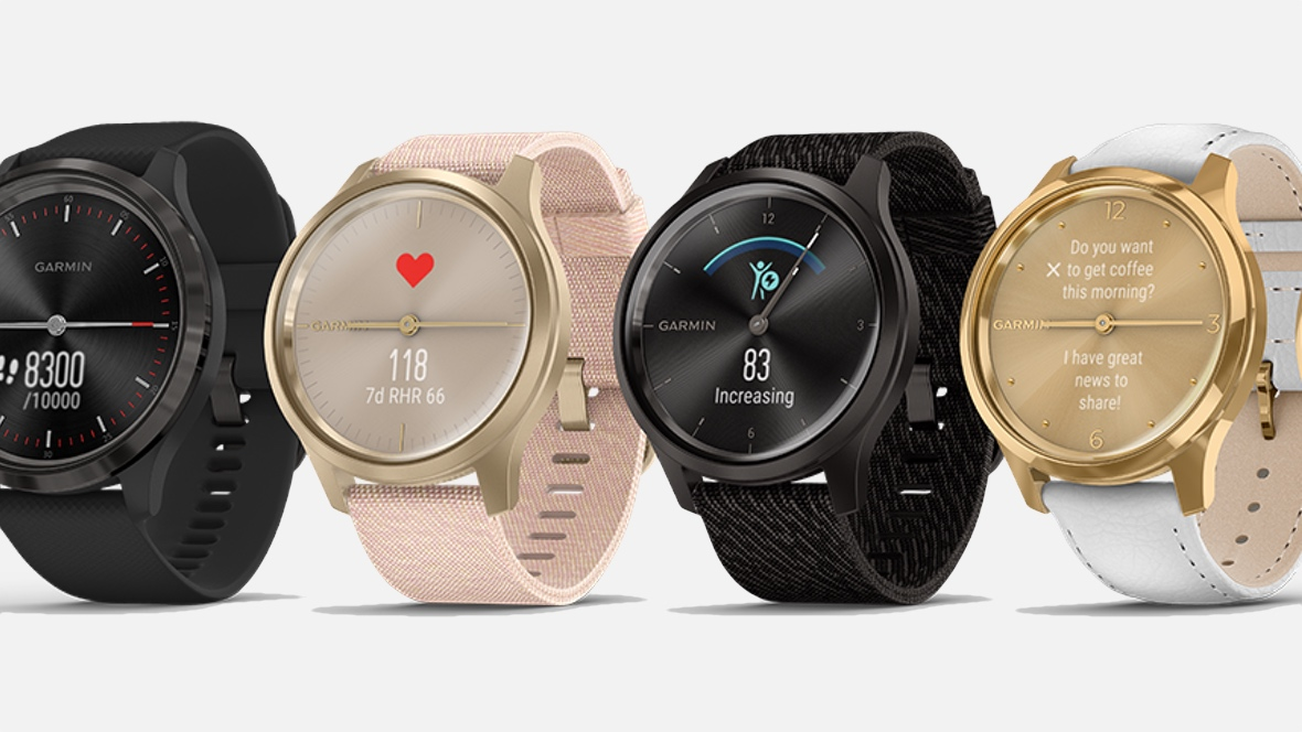 Garmin Vivomove series brings dual displays