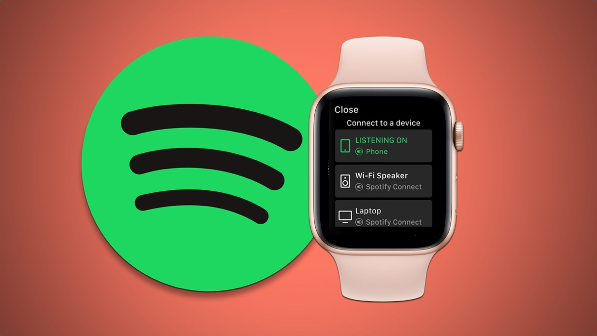 Using Spotify on the Apple Watch
