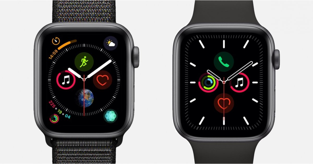 Apple Watch Series 5 v Series 4: All the key differences between the Apple smartwatches