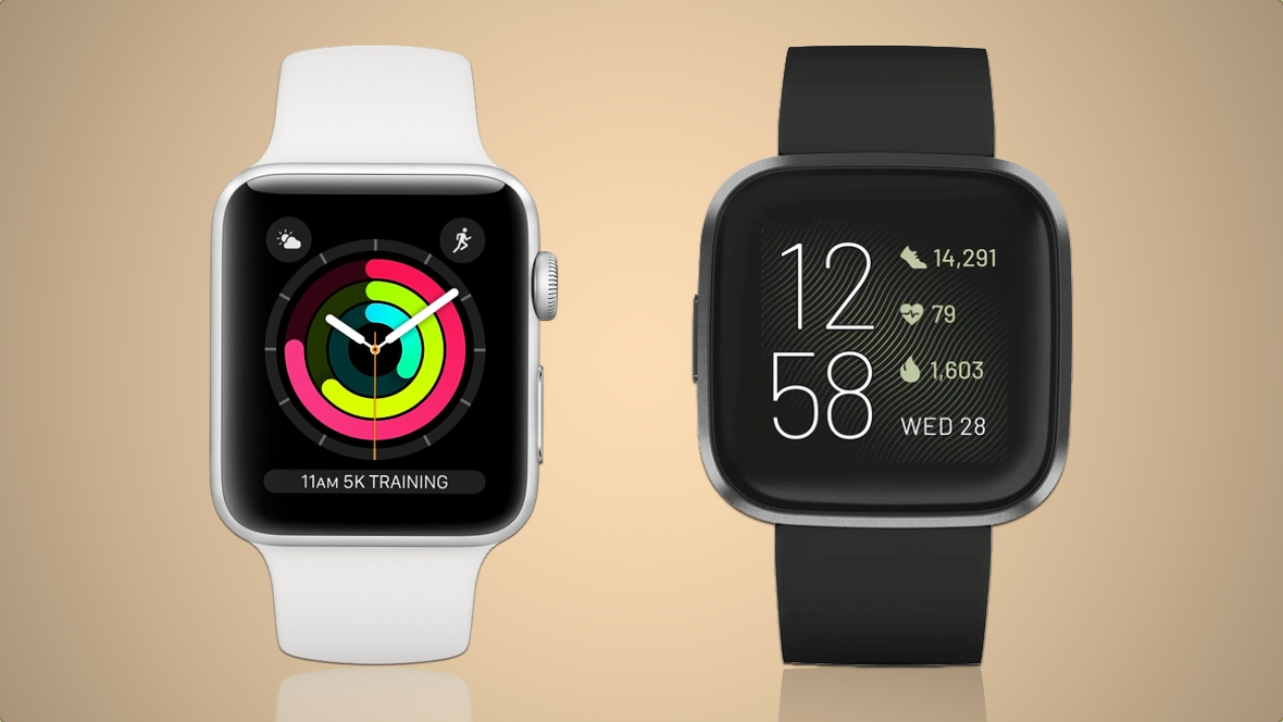 Apple Watch Series 3 v Fitbit Versa 2