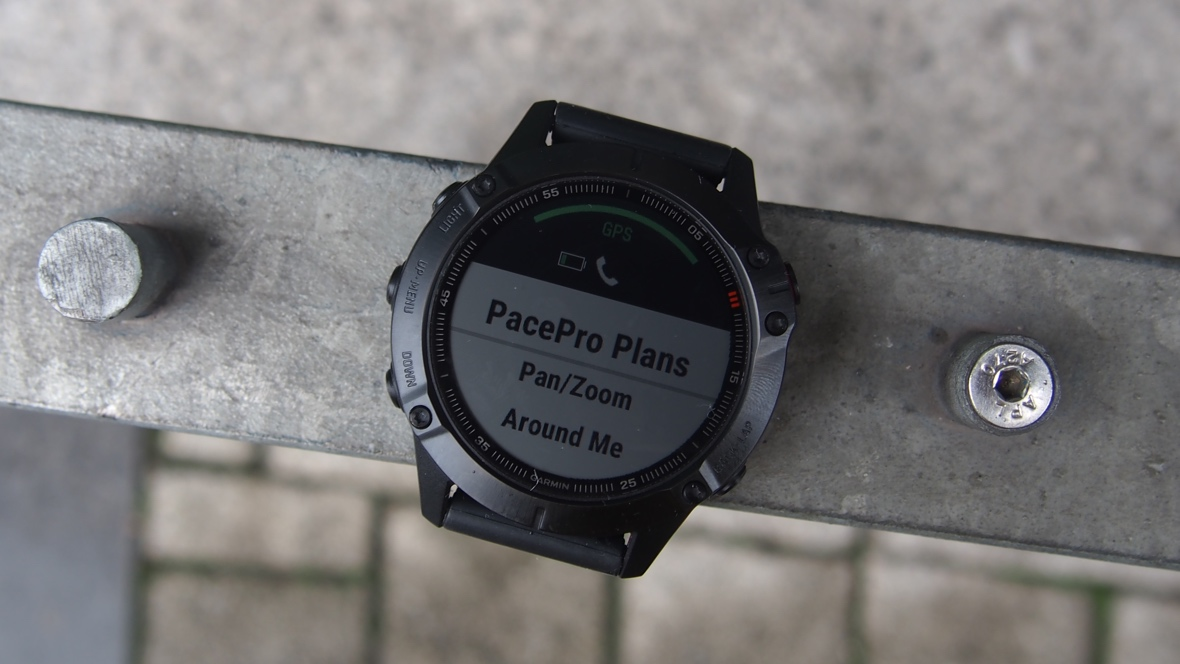 How to use Garmin PacePro