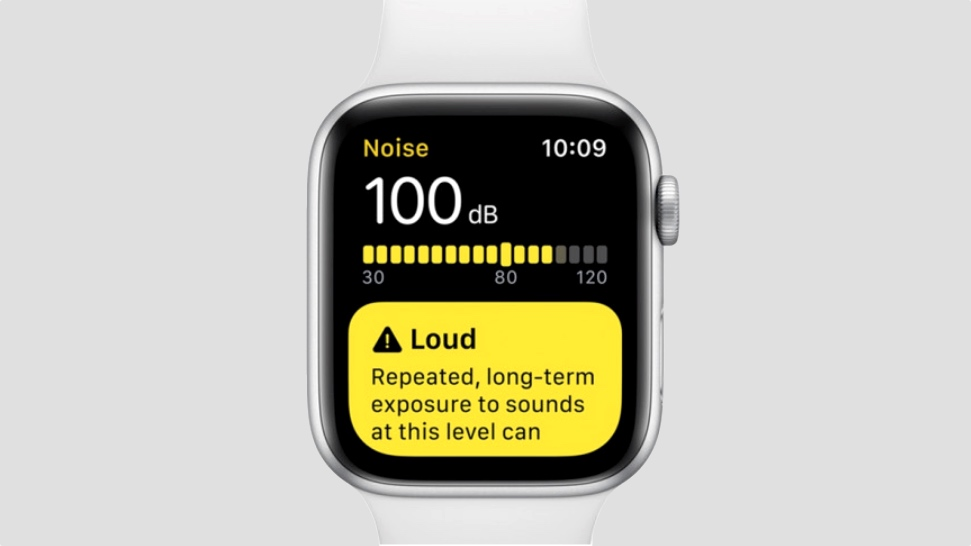 Using the Apple Watch Noise app