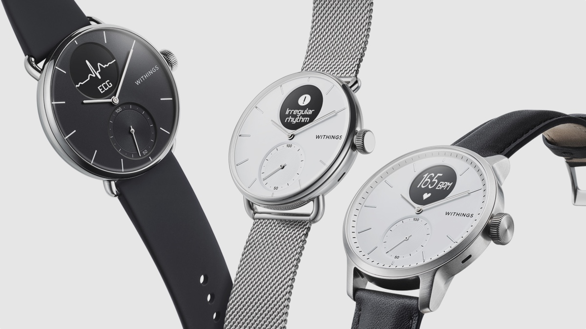 ​Withings launches ScanWatch