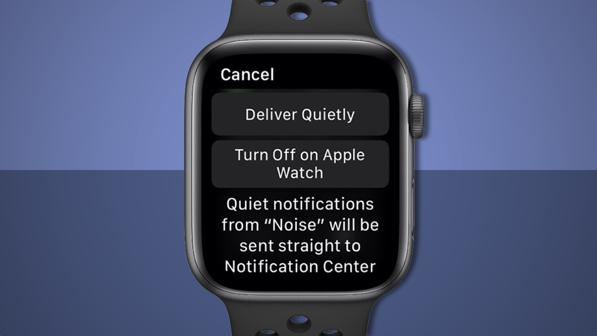 Manage your Apple Watch notifications