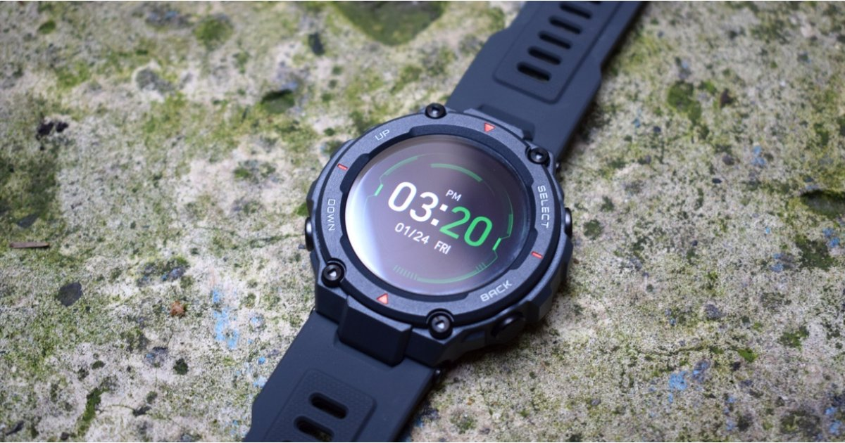 Amazfit T-Rex review: $140 sport watch takes a bite at Garmin