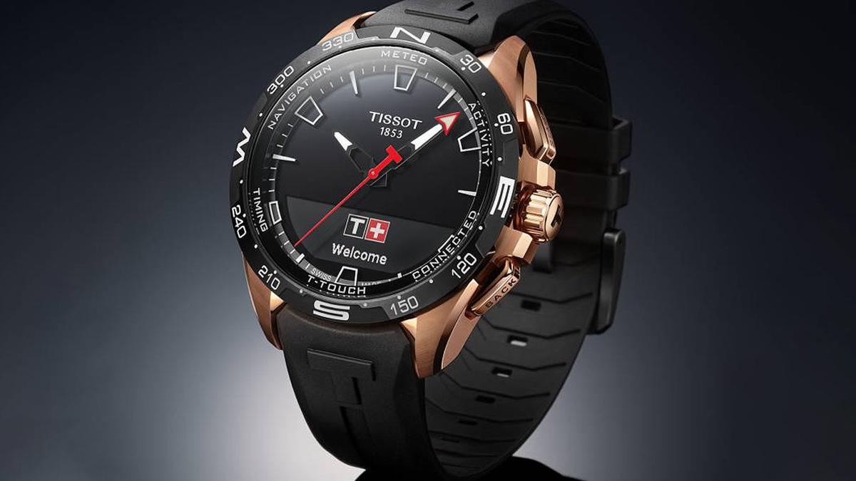 Check out the Tissot T-Touch Connect Solar