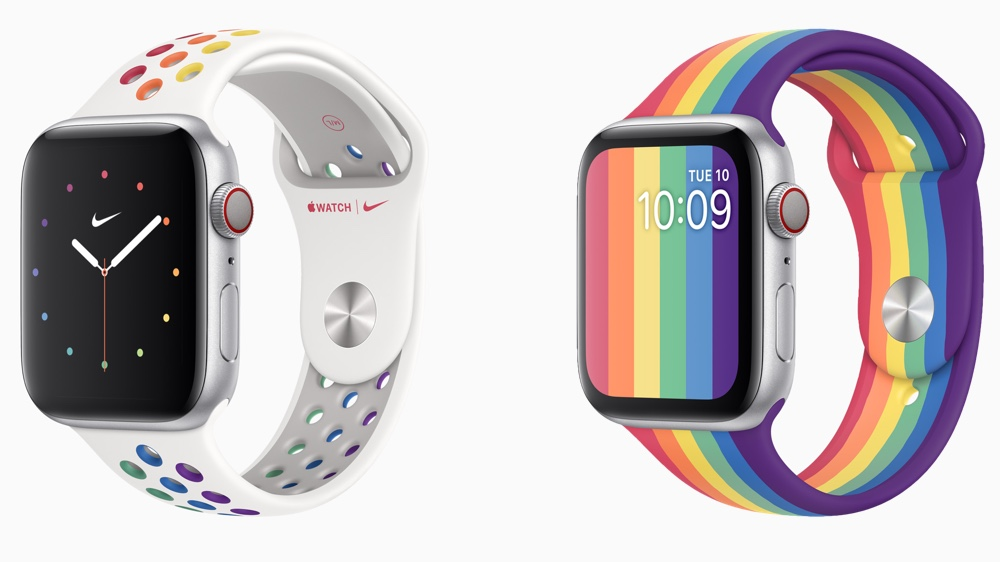 Apple launches Pride 2020 bands and faces