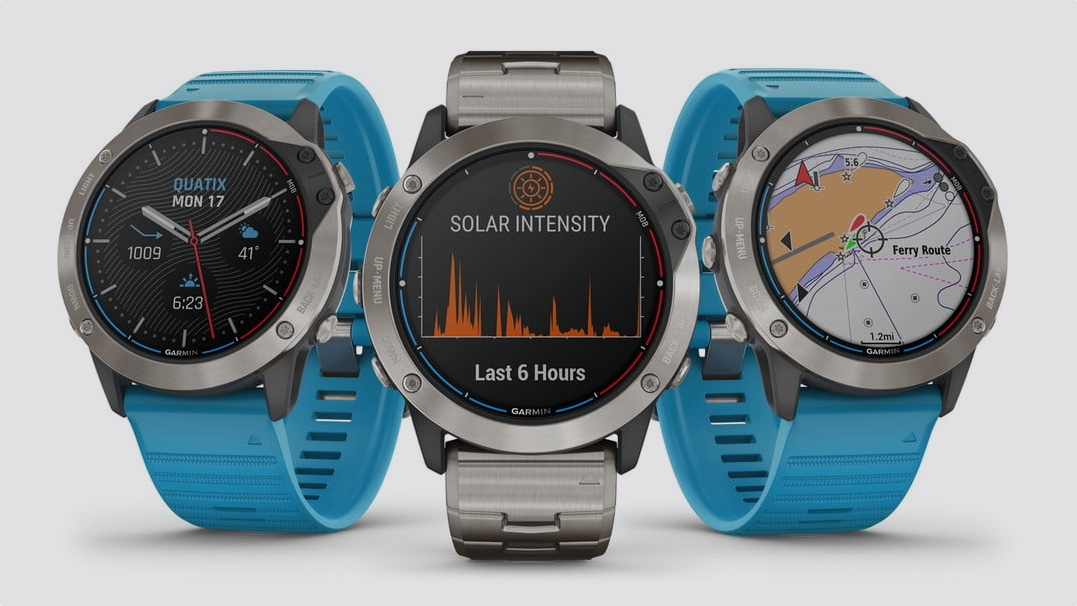 Garmin launches Quatix 6X Solar