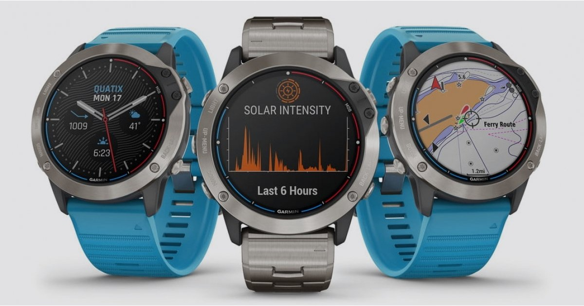 Garmin launches Quatix 6X Solar for longer boating adventures - Wareable