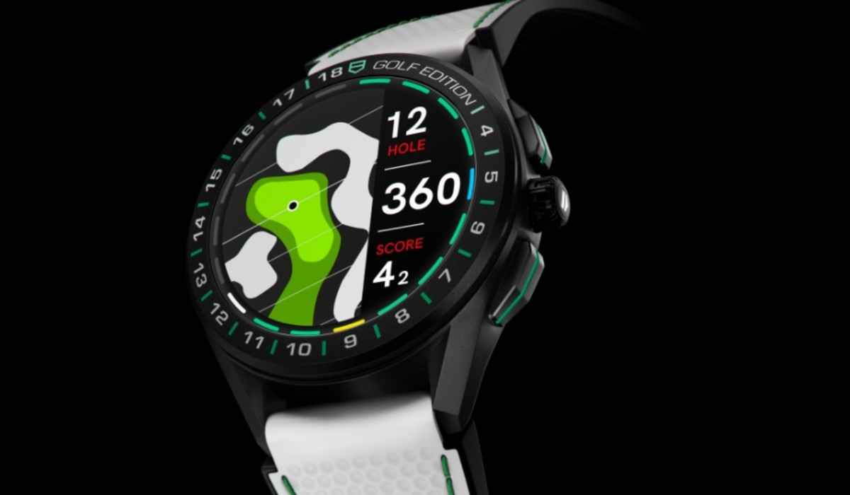 Tag Heuer Connected Golf Edition is back