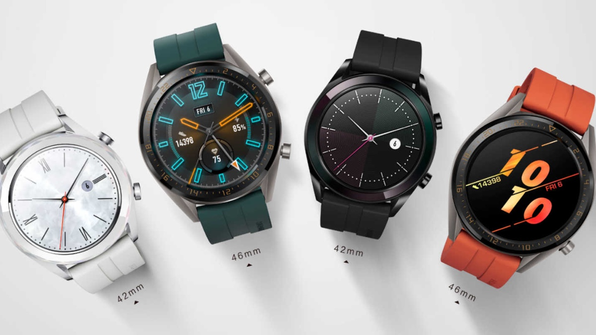 ​Huawei smartwatches crash the party