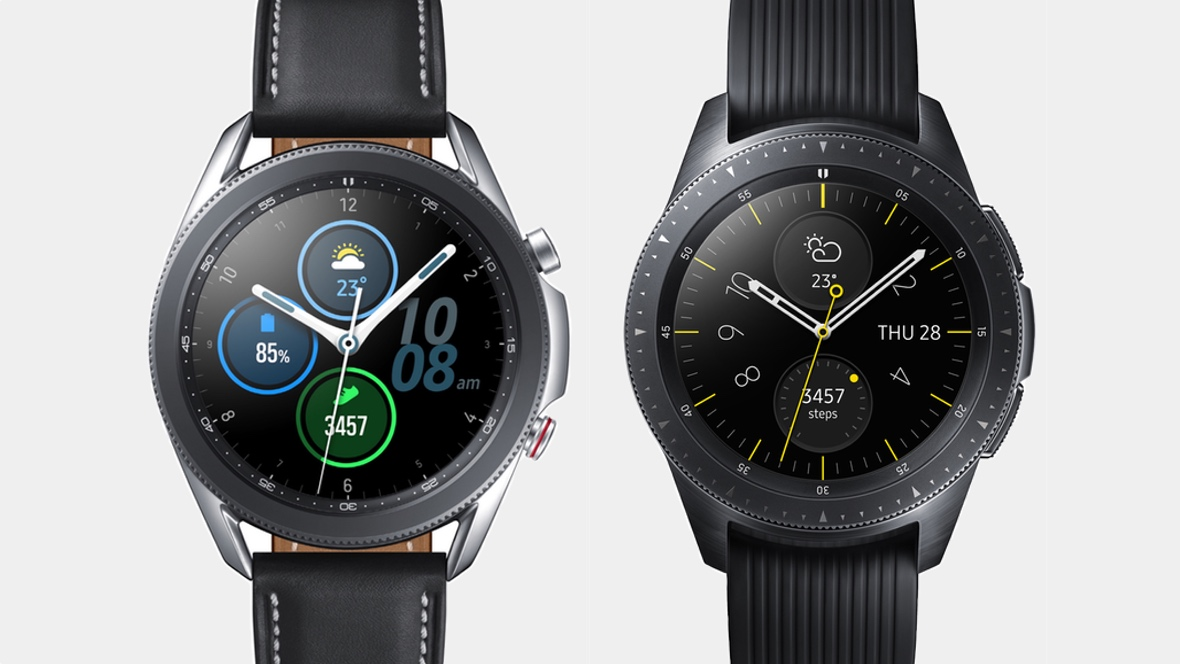 Samsung Galaxy Watch 3 v Galaxy Watch