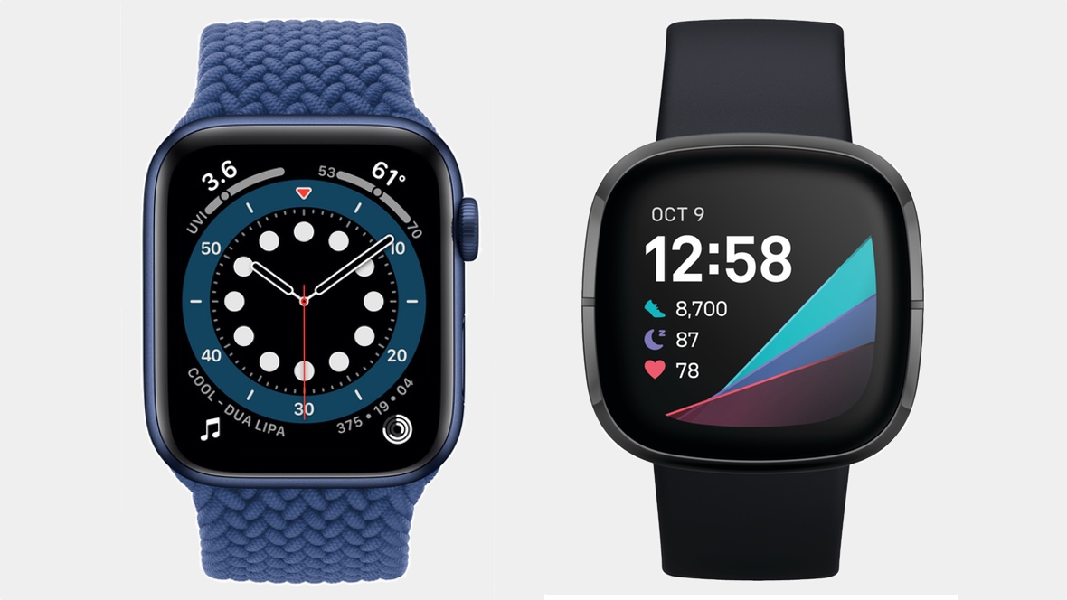 Apple Watch Series 6 v Fitbit Sense