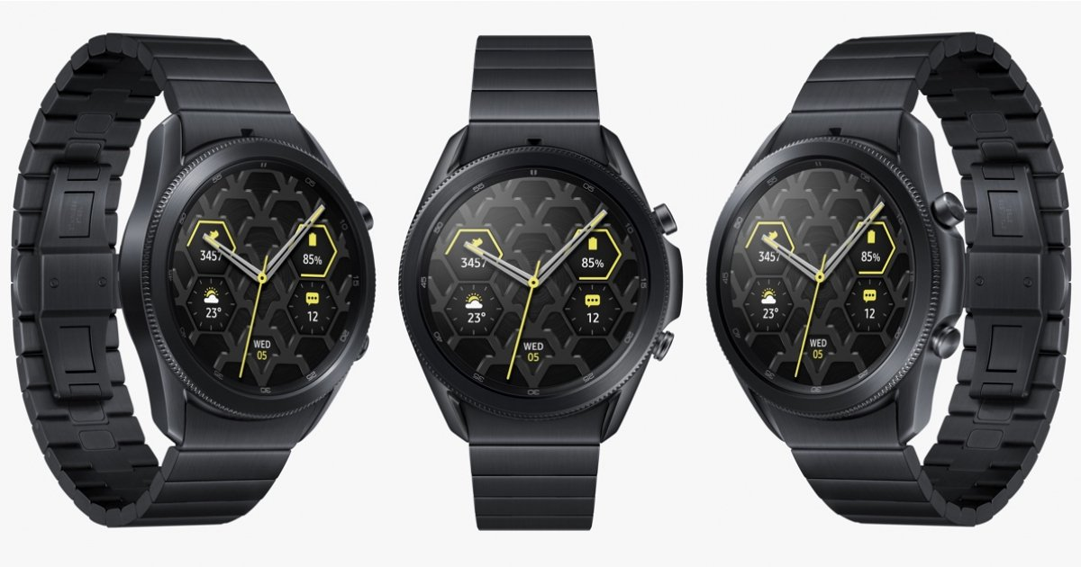 Samsung Galaxy Watch 3 goes high-end with new titanium finish - Wareable