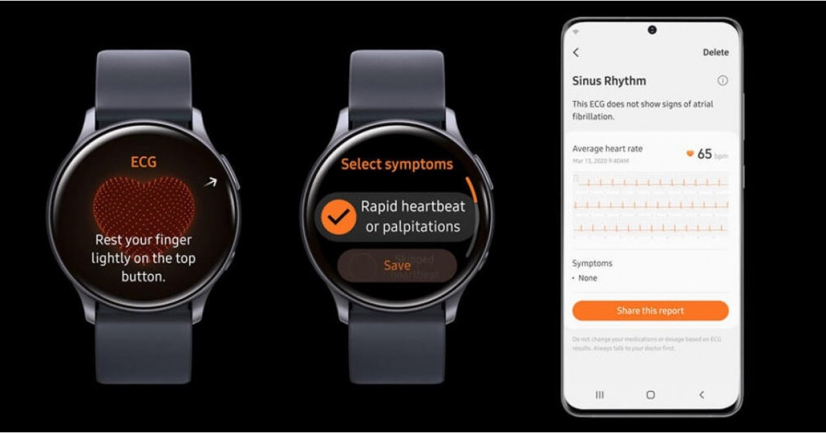 Samsung Galaxy Watch models get ECG feature - Wareable