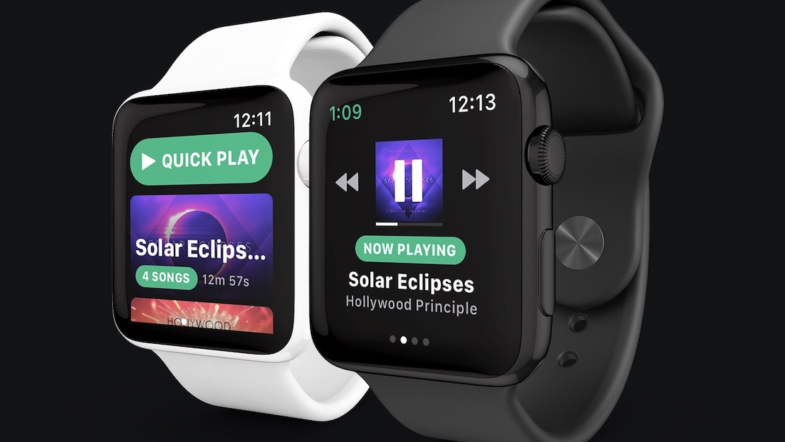 Spotify now streams to Apple Watch