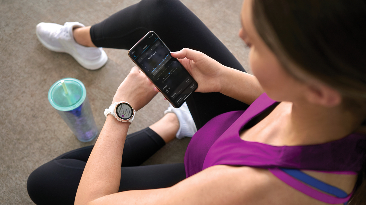 Garmin adds pregnancy tracking feature